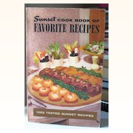 1252 Recipes Sunset Cookbook 1949 - 1965
