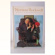 1st Edition Norman Rockwell A Sixty Year Retrospective 1972