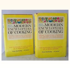 Meta Givens 2 Volume Cookbooks Hardback Dust Jackets 1969