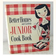 1st Edition 1955 Junior Cook Book