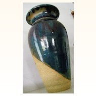 signed Otto Vintage Art Pottery Vase LARGE