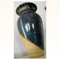 signed Otto Vintage Art Pottery Vase LARGE