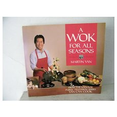 Martin Yan Cook Book (Yan Can Cook) 1988 1st Edition - Red Tag Sale Item
