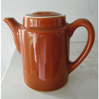 Coors China Single Serve Teapot Restaurant Ware