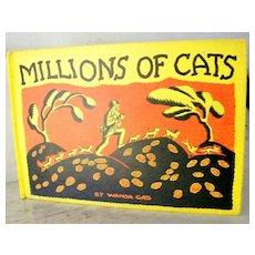 Millions of Cats Wanda Gag  1st 1928 Rare
