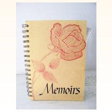 Memoirs a Memoir Book with Guidance
