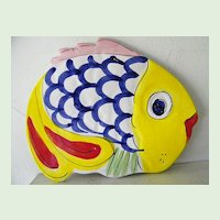 La Musa Handpainted Ceramic Fish made in Italy