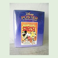 Book of Disney Posters 1st Edition * OVER 100 Posters, Mickey Mouse and more
