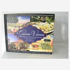 Signed cookbook by Sebastiani Italian Cookbook  1st Edition 1st print