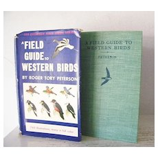 1st Edition A Field Guide to Western Birds 1941 740 Illustrations