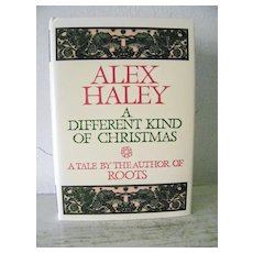 A Different King of Christmas by Alex Haley 1st Edition Mint 1988