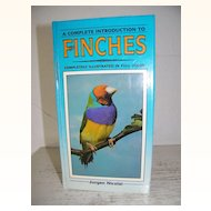 Finches Hardback book Full Color