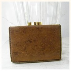 Genuine Leather  Wallet w'  exceptional leather lining