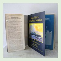 Ships of the U.S. Merchant Marine Signed 1st Edition Nautical