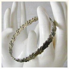 Taxco Sterling Silver Bangle Bracelet 16.2 grams
