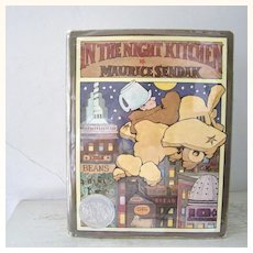 FIRST Edition  In The Night Kitchen by Maurice Sendak 1970