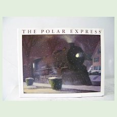 2 Books The Polar Express 1st Edition 1985 and 2nd Book with Pristine Dust Jacket