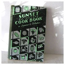 Sunset All Western Cook Book 1936 Exotic Recipes
