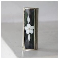 Alpaca & Mother of Pearl lighter cover