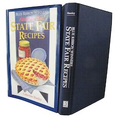 """Blue Ribbon Winners  """"State Fair Recipes"""" new condition"""