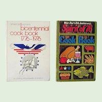 Two Bicentennial Cookbooks 1976