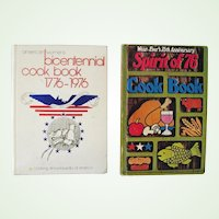 Two Bicentennial Cookbooks 1976