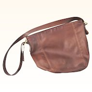 Authentic vintage Coach Brown Leather Hobo Shoulder Bag