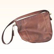 Authentic vintage leather Coach Brown Hobo Shoulder Bag Purse
