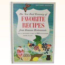 The New Ford Treasury of Favorite Recipes Guide to 800 Eating Places 1966