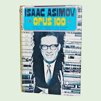 Isaac Asimov Opus 100 1st edition Hardback with Dust Jacket