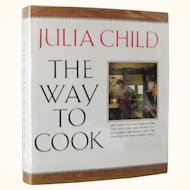 Julia Child The Way To Cook 1st Edition 1st Print Unread
