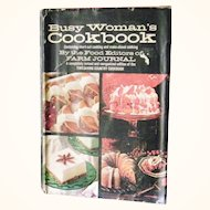 Busy Womans Cookbook 1971