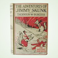 The Adventures of Jimmy Skunk Thornton W. Burgess 1918