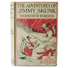 The Adventures of Jimmy Skunk Thornton W. Burgess 1918