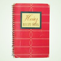Heinz Recipe Book Cook Book 1939