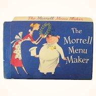The Morrell Menu Maker Cookbook