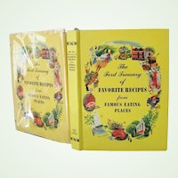 The Ford Treasury of Favorite Recipes from Famous Eating Places 1950