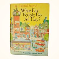 Richard Scarry's What Do People Do All Day  1st Edition 1968