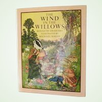 The Wind in the Willows lavishly color illustrated by Michael Hague 1980