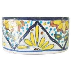 Vintage Talavera Uriarte pattern Oblong Planter Bowl