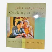 Julia and Jacques Cooking at Home 1999 Stated First Edition