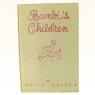 Bambi's Childen by Felix Salten 1939