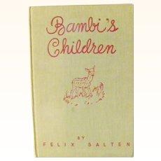 Bambi's Childen by Felix Salten 1939