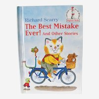 Richard Scarry's 1st Edition 1984 The Best Mistake Ever and other stories