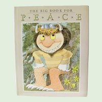 The Big Book for Peace First Edition 1990 Maurice Sendak and more