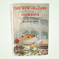 The New Orleans Restaurant Cookbook revised and updated