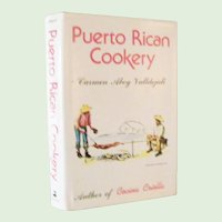Puerto Rican Cookery by Carmen Valldejuli