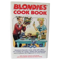 Blondie's Cook Book by Chic Young, Illustrations by Dean Young