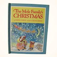 The Mole Family's Christmas by Russell Hoban  1969