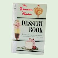 The Duncan Hines Dessert Book cookbook 1961 1st printing